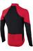 PEARL iZUMi P.R.O. Pursuit LS Wind Jersey Men True Red/Black
